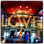 Love Bar, Veritas Winery in Virginia