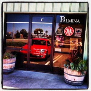 Palmina Winery in the Lompac Wine Ghetto