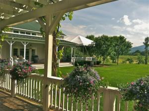 The Porch at Veritas in Virginia