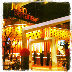 Julian Serrano at the Aria