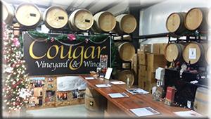 Cougar tasting room