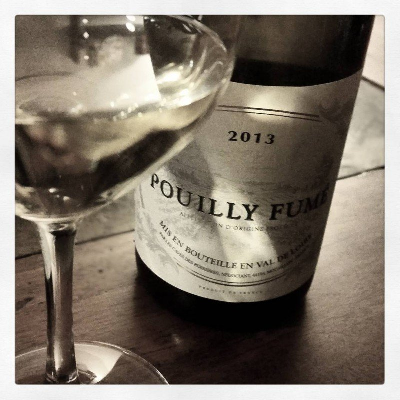End to a lovely weekend with a little Pouilly Fumehellip