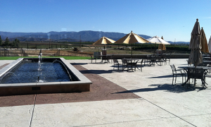 Monte de Oro patio