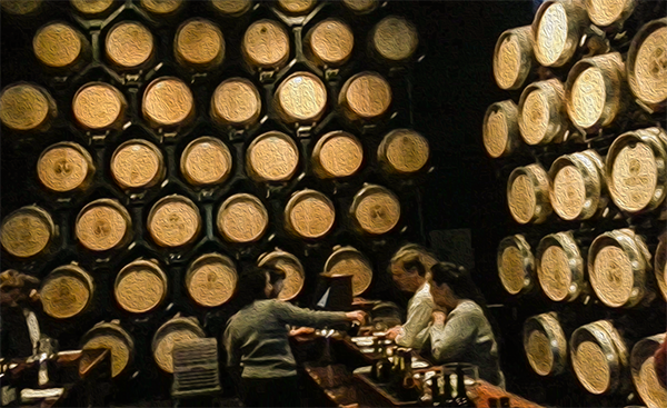 Wien's Barrel Room