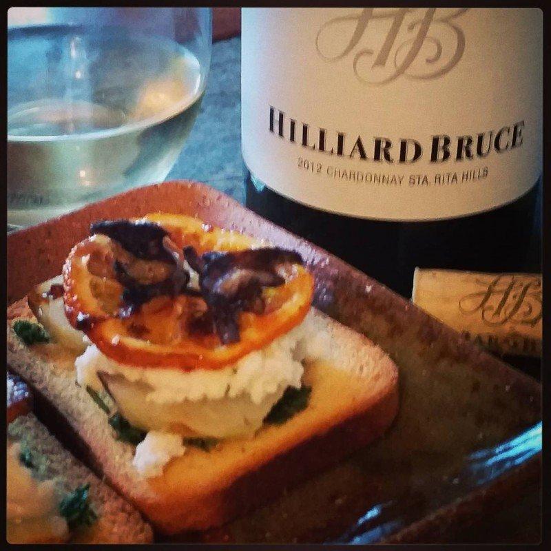 Christies beautiful 2012 Sta Rita Hills Chardonnay from hilliardbrucevineyards withhellip