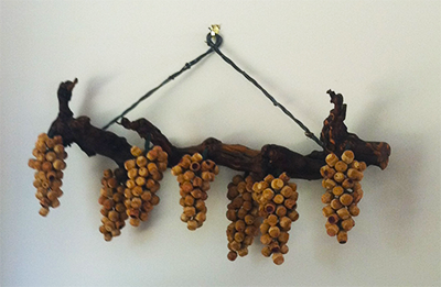 Wine Cork Wall Art lumiere winery - crushed grape chronicles