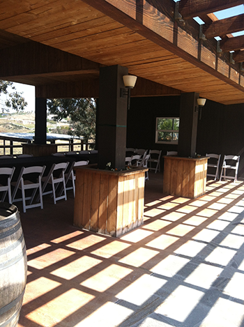 Lumiere Winery Patio