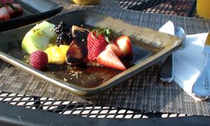 Europe Inn Fruit Salad Plate