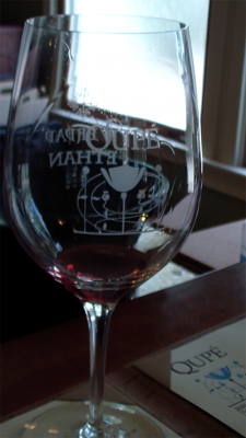 Qupe Wine Glass