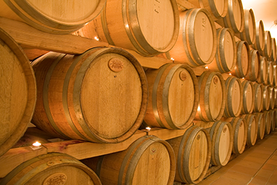 Wine Barrel's Stacked
