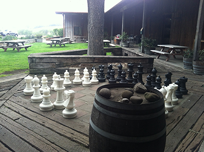 Zaca Mesa chess set