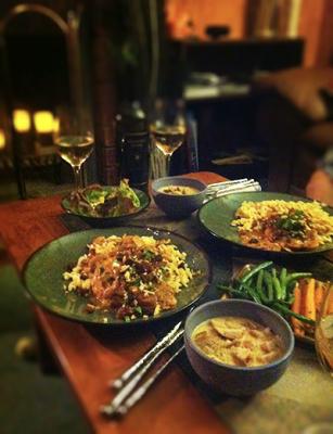 Plating of Dinner