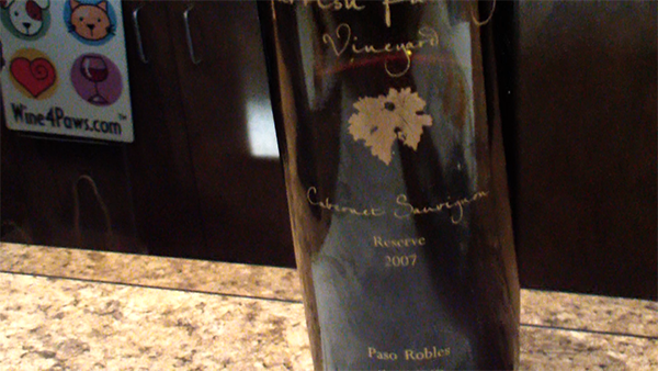 Parrish Family Reserve Wine