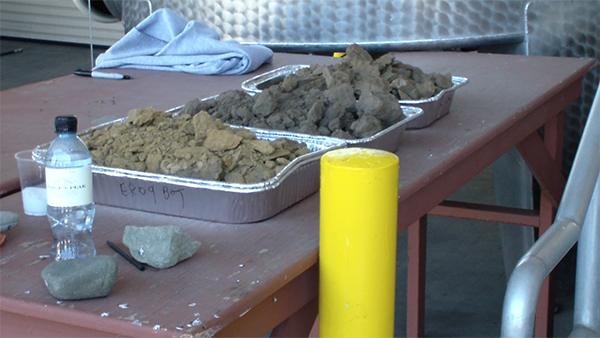 Talley Winery Soil samples