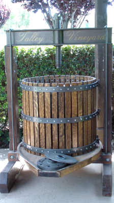 Talley Vineyard Old basket press