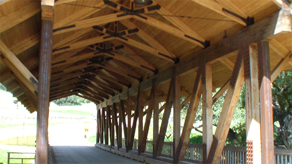 Halter Ranch Covered Bridge