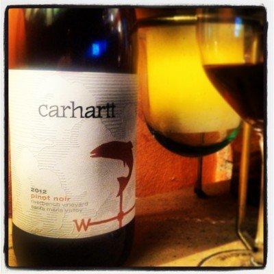 Carhartt 2012 Pinot Noir