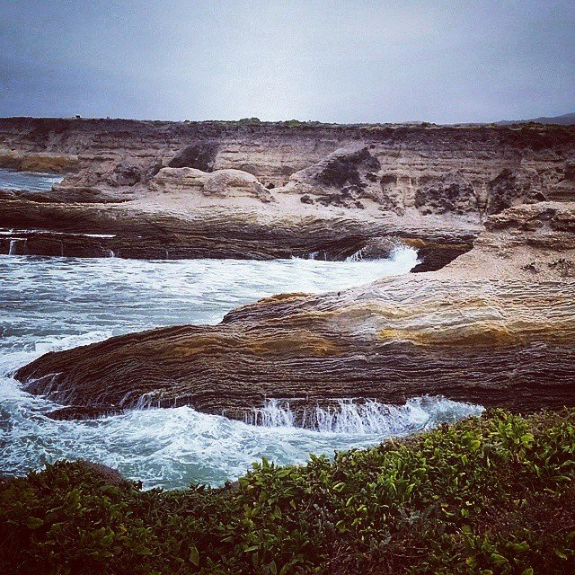 The bluffs at Montana de Oro park on the Centralhellip