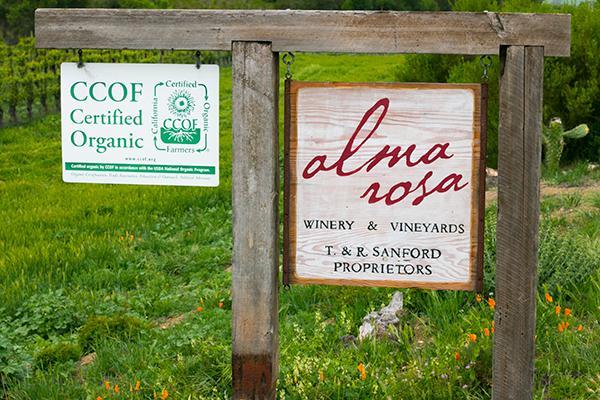 Alma Rosa sign
