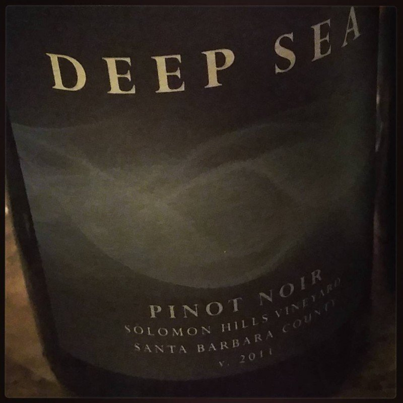 Solomon Hills 2011 Pinot from Deep Sea in santabarbaracountywine