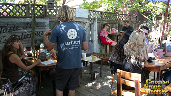Carhartt Tasting Patio