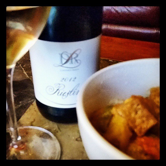 Takeout Thai and a DR Loosen Riesling.