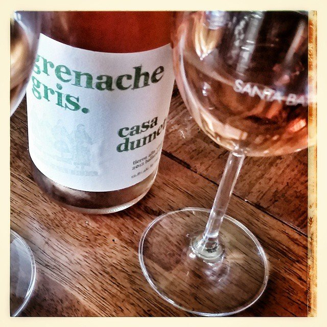 Lunch with a @casadumetzwines  Grenache gris! Life is good!
