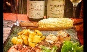 Burgundy dinner pairing