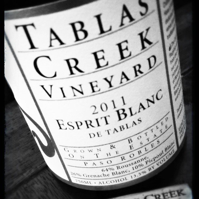 The perfect way to warm a gray and rainy day.  Thank you @tablascreek