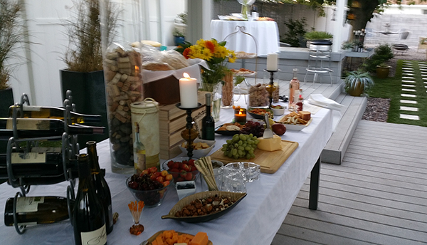 Wine Party with Friends