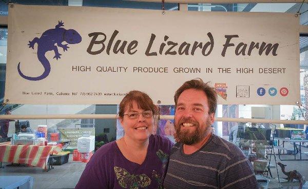 Blue Lizard Farm, Rodney & Christine